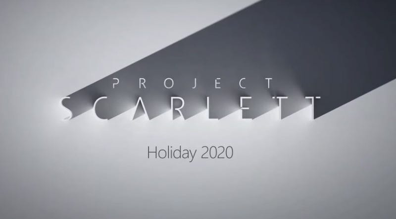 Illustration for article titled Microsoft Announces Project Scarlett, The Next-Gen Xbox