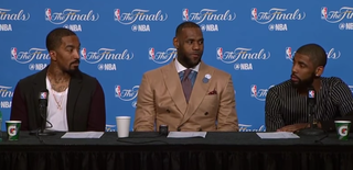 Illustration for article titled Enjoy This Wonderfully Awkward Moment From The Cavaliers' Press Conference