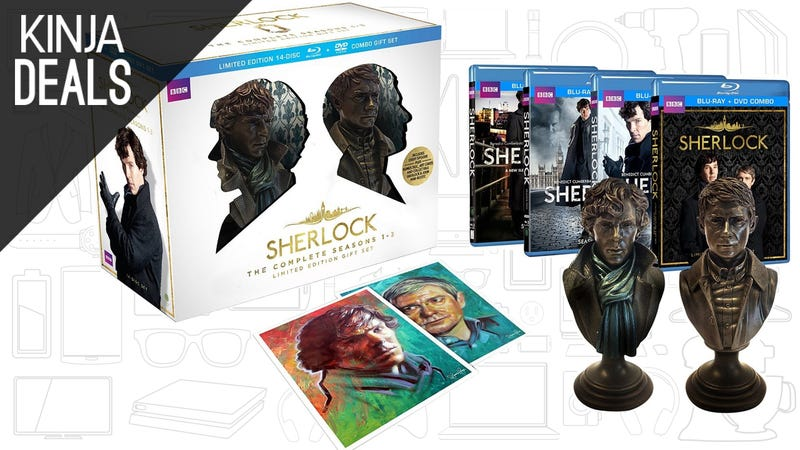 Illustration for article titled Today's Best Media Deals: Sherlock, Dark Justice StoryBundle, and More