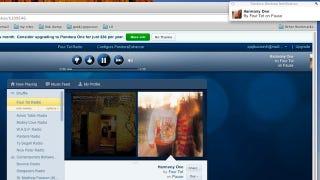 Illustration for article titled PandoraEnhancer for Chrome Removes Ads, Adds Desktop Notifications for Song Changes