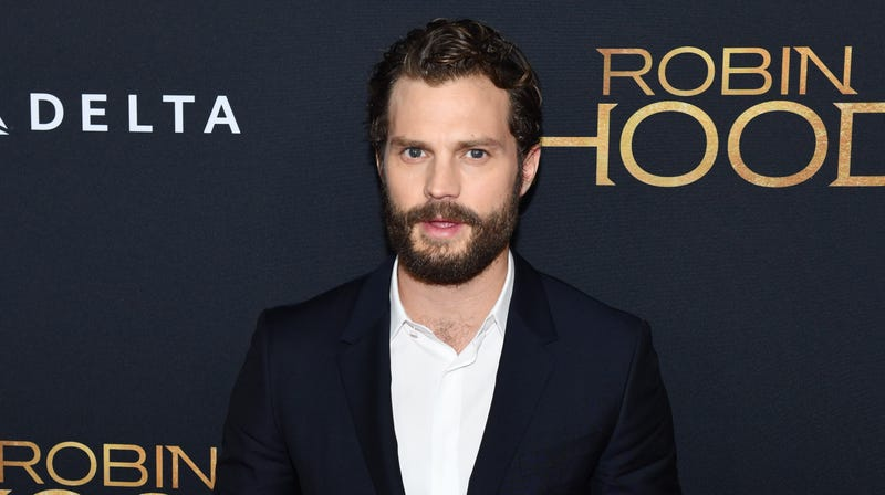 Illustration for article titled Jamie Dornan Has an Ax Now, Not That He's Going to Use It