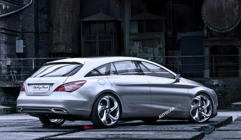 Illustration for article titled Start Lobbying Mercedes For A U.S.-Bound CLA Shooting Brake