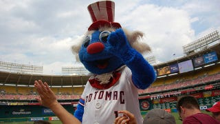 Illustration for article titled Minor League Mascot Placed On DL With Third-Degree Costume Burns