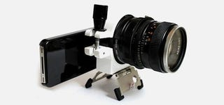 Illustration for article titled iPhone 4 Camera Gets An SLR Lens Upgrade