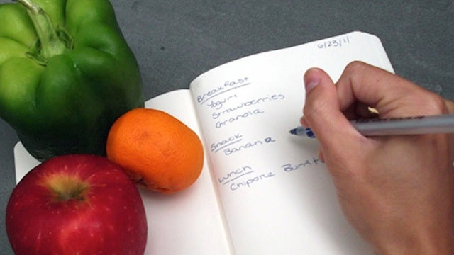 Keep A Daily Food Diary To Track Your Diet, Lose Weight