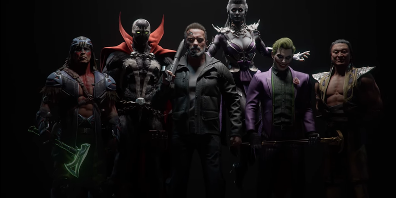 Mortal Kombat 11 Reveals New Fighters Including The Terminator and Joker