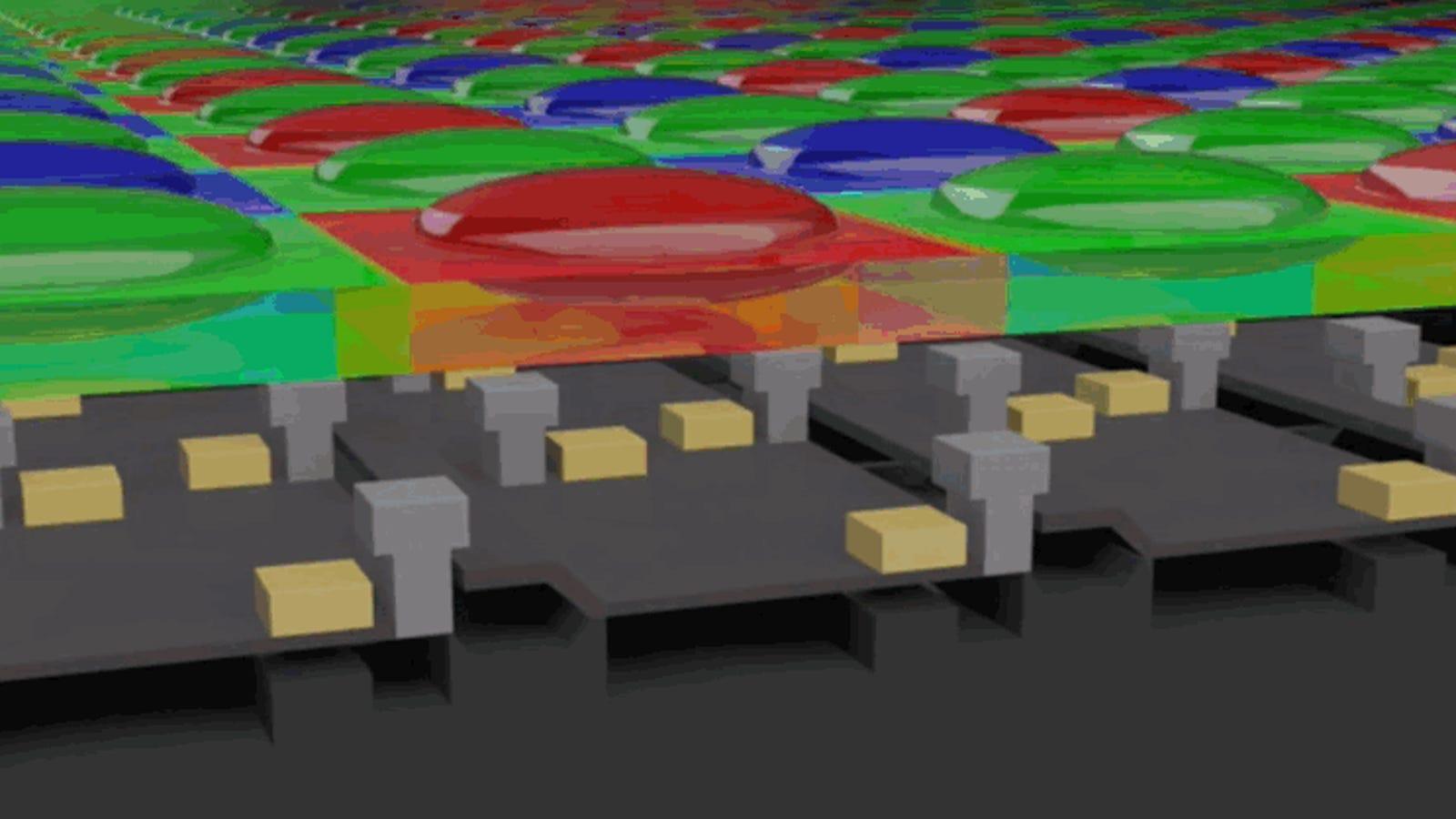 Estas animaciones explican cómo funciona el sensor de una cámara digital