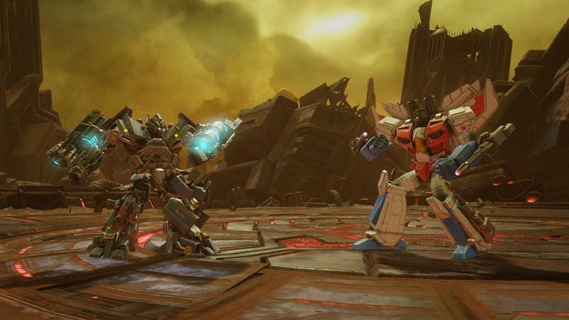 Illustration for article titled Transformers: Forged To Fight Takes Kabam's Fighting Game To The Next Level