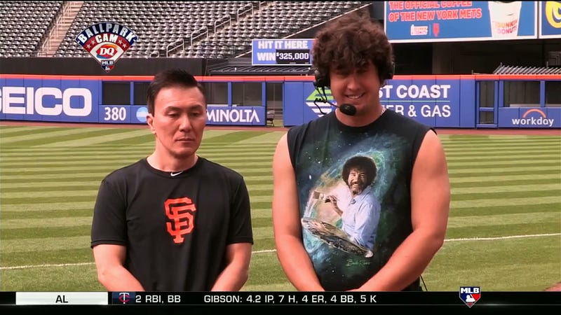 Illustration for article titled Giants Pitcher Derek Holland Uses Asian Team Staffer For Stale, Racist Jokes On MLB Network
