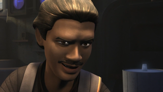 Illustration for article titled Even Animated, Lando Calrissian Is As Smarmy As Ever On Star Wars Rebels