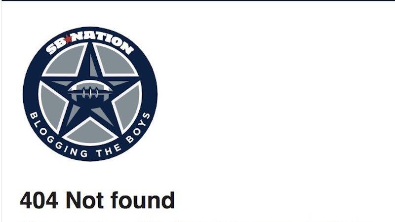 Illustration for article titled SB Nation Cowboys Blog Deletes Bad Post About Ezekiel Elliott [Update]