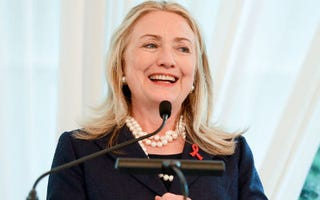 Hillary Clinton (Michael Kovac/Getty Images)