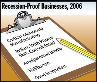 Illustration for article titled Recession-Proof Businesses, 2006