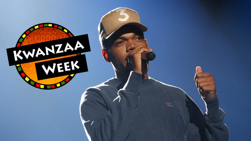 Chance the Rapper (Tommaso Boddi/Getty Images for EIF); photo illustration by GMG/The Root