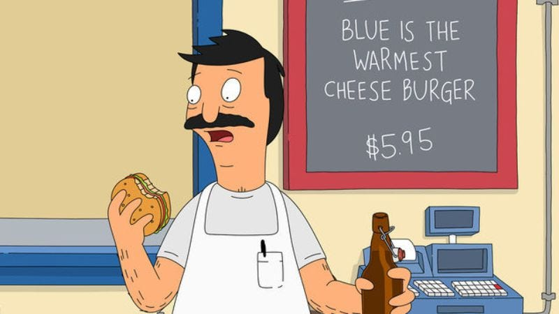 Illustration for article titled An official Bob's Burgers cookbook is coming