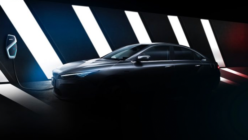 Illustration for article titled Here's Your First Look at Chinese Automaker Geely's All-New Electric Sedan You've Never Heard Of