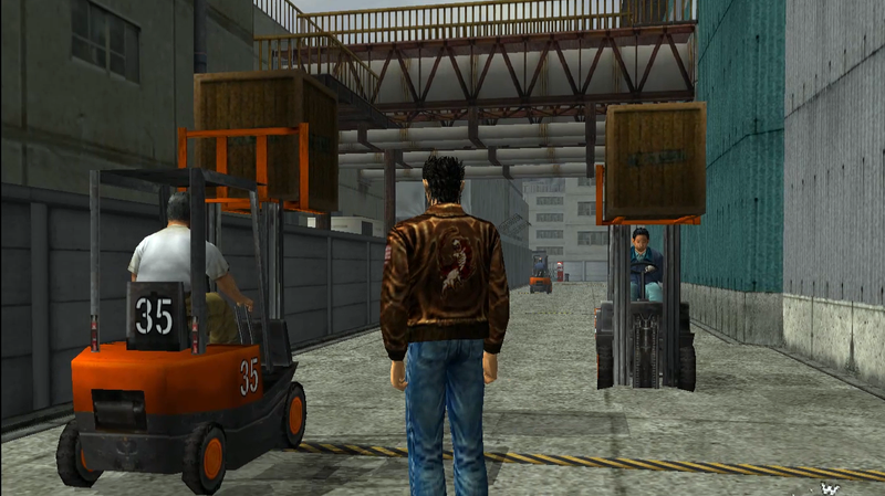 Illustration for article titled Shenmue's Much-Hated Forklifts Feel Revolutionary Today