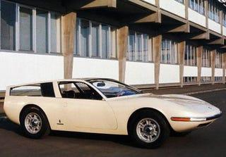 Illustration for article titled 1967 Fiat Dino Parigi (Pininfarina)
