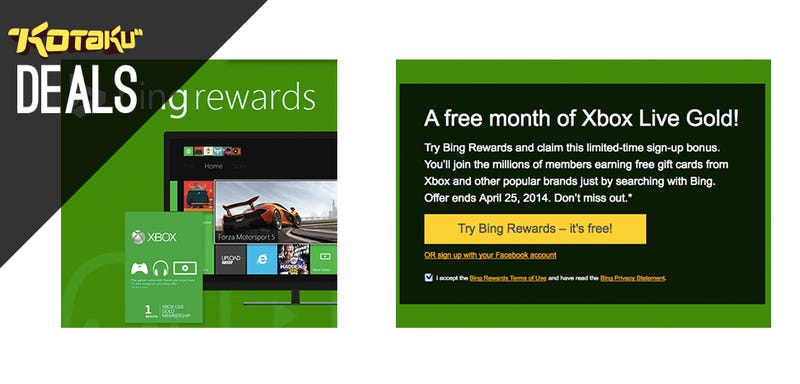 Illustration for article titled Free Month of Xbox LIVE, New Humble, Indiana Jones, GTAV [Deals]