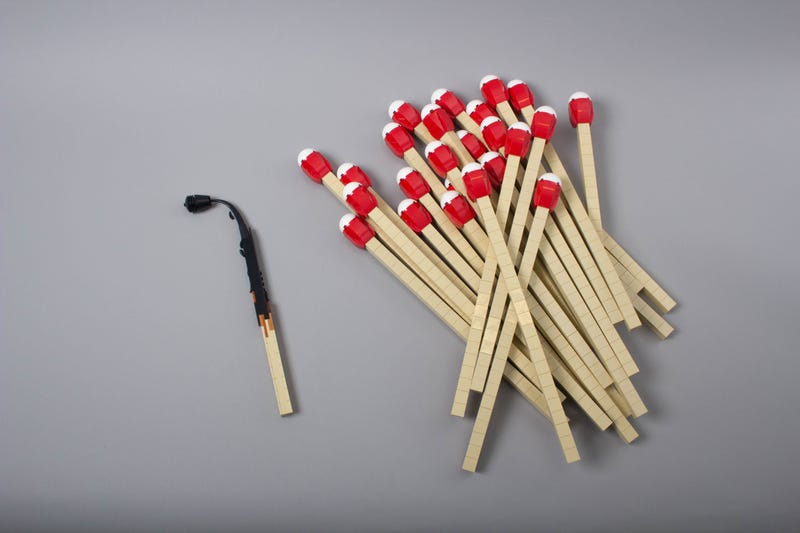 Illustration for article titled These are not matches.