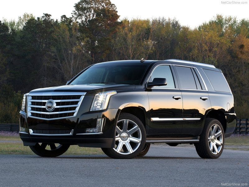 Illustration for article titled I want an Escalade.