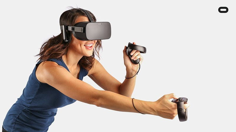 Oculus Rift + Touch Controllers, $600 + $100 Oculus Store Credit