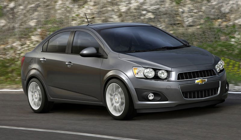 Illustration for article titled 2012 Chevy Aveo: A Meaner Shade of Cheap