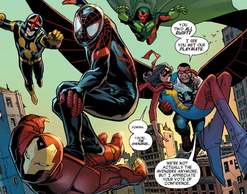 Illustration for article titled The All New Avengers Team Has Finally Assembled... Sort Of