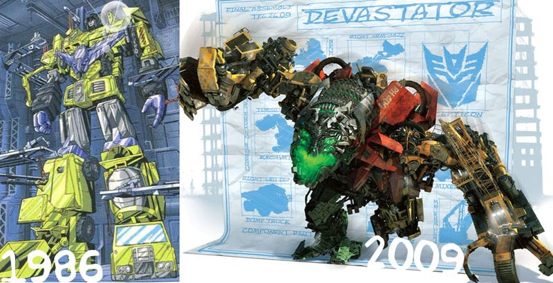 Illustration for article titled The Transformers' Devastator: 23 Years Later