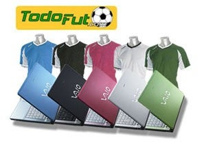 Illustration for article titled Spanish VAIO FJ Offers Cultural Understanding, Free Jerseys