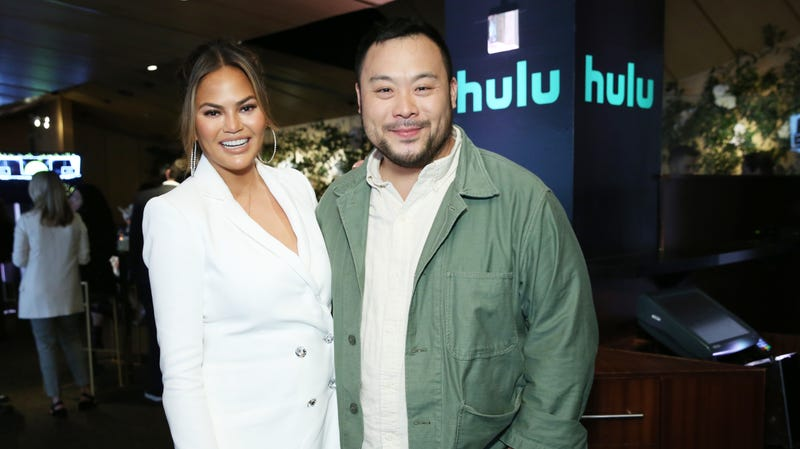 Illustration for article titled Chrissy Teigen and David Chang team up for Hulu cooking show