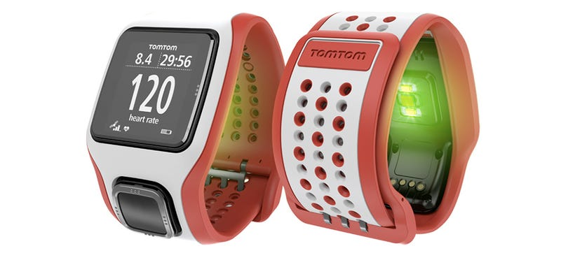Illustration for article titled TomTom Squeezes a Heart Rate Monitor Into Its GPS Watches