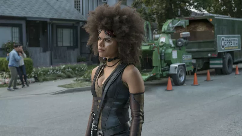 Zazie Beats as Domino. She's not really related to this story, I just think she's really cool.