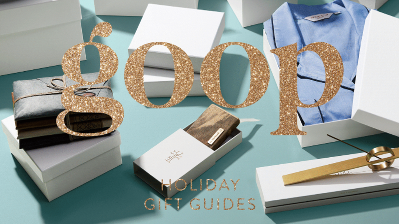 The Most Overrated Items in Goop's Holiday Gift Guide