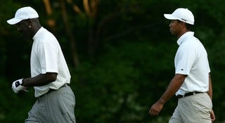 Illustration for article titled Michael Jordan To Attend Tiger Woods Press Conference? (UPDATE)