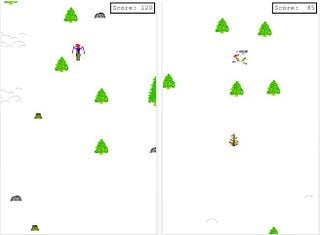 Illustration for article titled Legendary Microsoft Game SkiFree Now Free for the iPhone