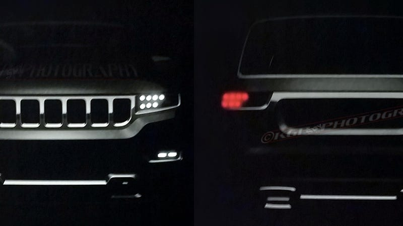 Here's Our First Look At The Range Rover-Fighting Jeep Grand Wagoneer