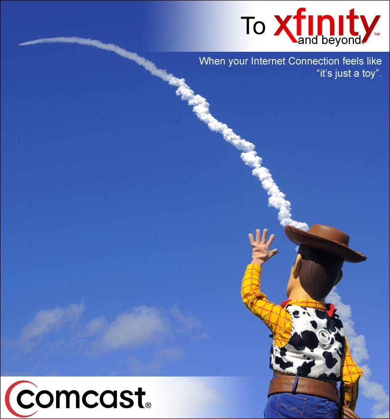 Illustration for article titled Xfinity Ad Gallery