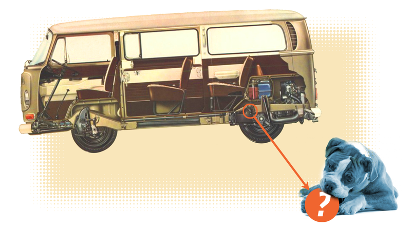 Illustration for article titled Guess Which Popular Dog Toy Is Based On A Volkswagen Suspension Part