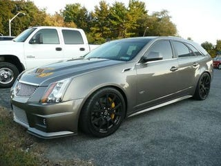 manual cts v wagon for sale in my town. Black Bedroom Furniture Sets. Home Design Ideas