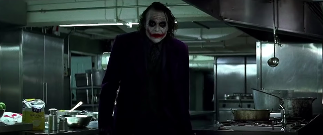 The crucial difference between The Dark Knight and Tim Burton's Batman is the Joker