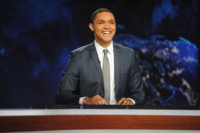 Trevor Noah, host of Comedy Central's The Daily Show With Trevor NoahBrad Barket/Getty Images for Comedy Central
