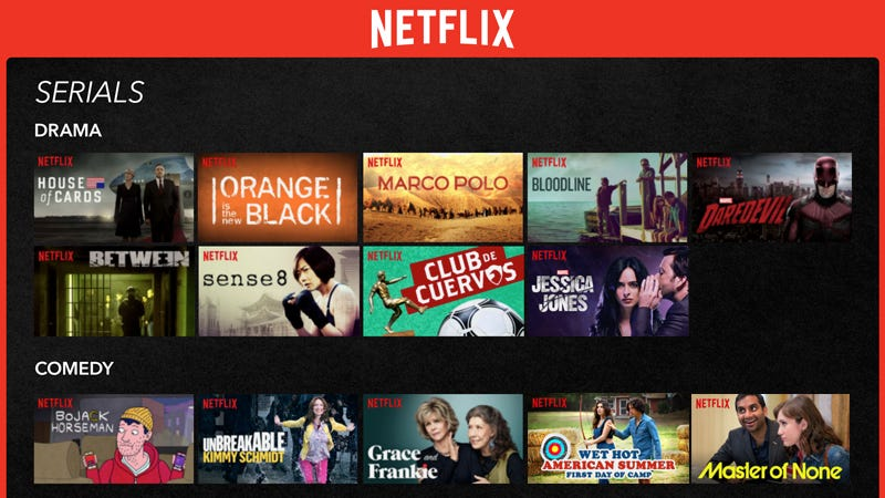 Illustration for article titled Every Original Show From Netflix, Hulu, and Amazon, In Three Graphics