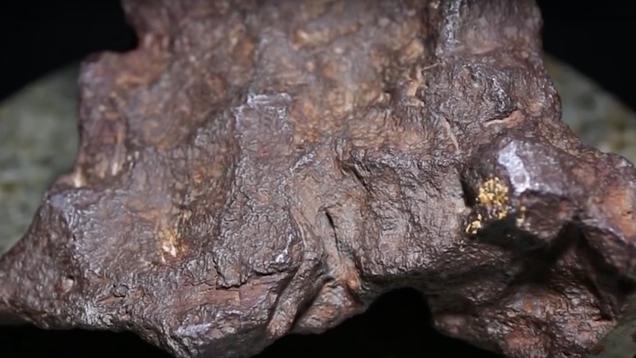 Michigan Man Discovers His Doorstop Actually a Meteorite Worth $100,000