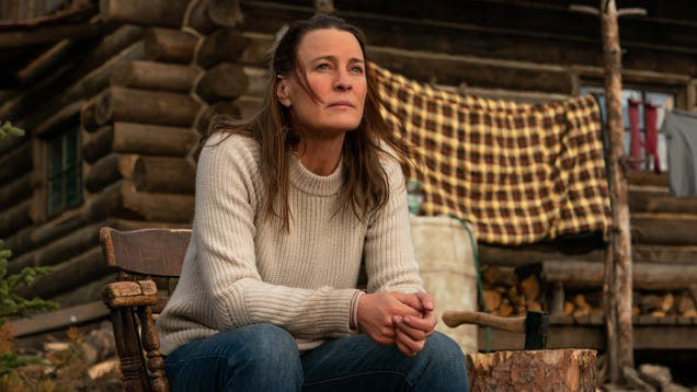 Robin Wright battles grief, bears, and a bad script in her off-the-grid survival drama Land