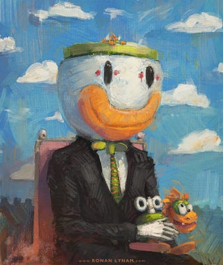 Illustration for article titled Super Mario World-Inspired Paintings