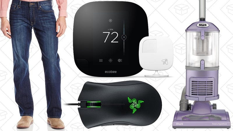 Illustration for article titled Today's Best Deals: Amazon Jeans Sale, Razer Blowout, Ecobee3, and More