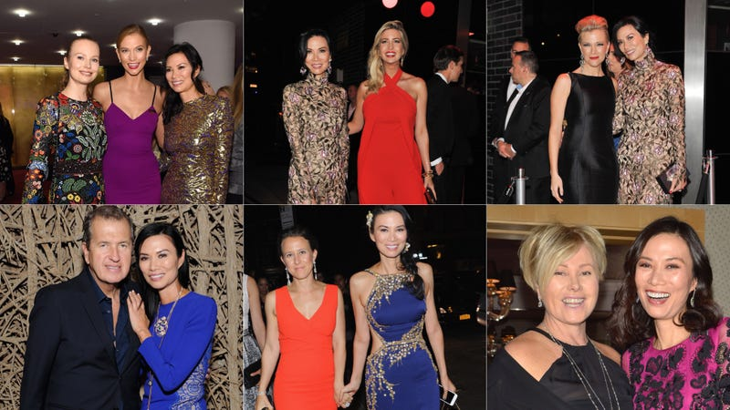 Images of Wendi and her friends via Getty.