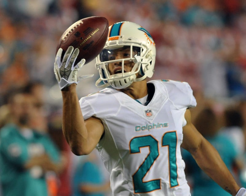 """Illustration for article titled Brent Grimes's Wife To NFL: """"Havent U Guys Shit On Him Enough?"""""""
