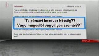 Illustration for article titled Három percben válaszolt a közmédia a comment:comnak, bónusz köcsögözéssel
